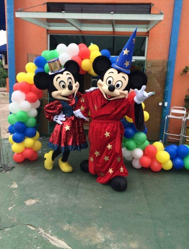 Fantasia Mickey no Jardim Paulistano - Aluguel de Fantasia Preço