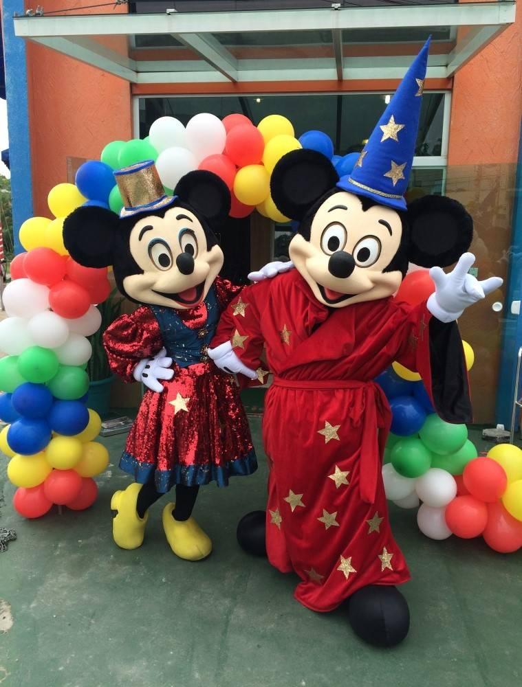 Mickey Minnie no Jabaquara - Aluguel de Fantasias SP