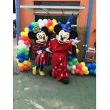 Fantasia Mickey no Jardim Paulistano