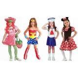 Fantasia para festa criança no Campo Grande