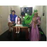 Fantasia para festa infantil Rapunzel no Socorro