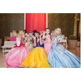 Fantasia Princesas em Santa Cecília