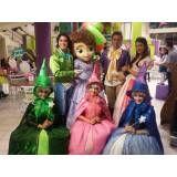 Fantasia Princesinha Sofia na Saúde