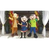 Festa infantil fantasias em Glicério