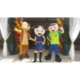 Festa infantil fantasias no Ibirapuera